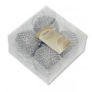 Novogodišnji ukras Kugla penasta set 4/1 KM 455907