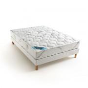 Reverie Dos Sensible Colchão em molas ensacadas, grande conforto firmebranco/cinzento- 70 x 190 cm