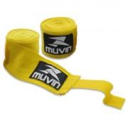 Bandagem Elástica - 300cm x 5cm - Amarelo - Muvin BDG-300