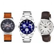 ADAMO Designer Men's Combo Analog Watch 108-116-90SL02