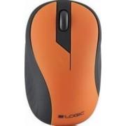 Mouse optic Wireless Logic LM-23 Portocaliu