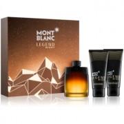 Montblanc Legend Night lote de regalo II. eau de parfum 100 ml + gel de ducha 100 ml + bálsamo after shave 100 ml
