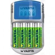 caricabatterie universale 220v usb 12v - varta - per batterie aa e aaa