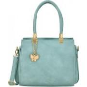 Butterflies Women Blue Sling Bag