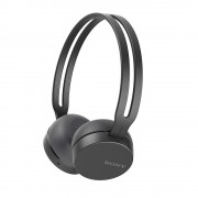 HEADPHONES, SONY WH-CH400, Headset. Bluetooth/NFC, Google/Siri voice assistant, Black (WHCH400B.CE7)