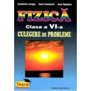Fizica clasa a 6-a culegere de probleme- Constantin Corega Dorel Haralamb Seyl Talpalaru
