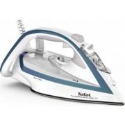 Fier de calcat TEFAL Turbo Pro Anti-calc FV5689E0 300ml 240g/min 2800W talpa Durilium Airglide Autoclean Alb-Albastru