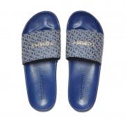 Tommy Hilfiger dames badslippers - blauw