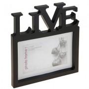 Fotolijst Live zwart 10x15 cm