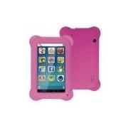 Tablet Multilaser Kid Pad Rosa Quad Core Dual Camera Wi-Fi Tela Capacitiva 7 Memória 8GB - NB195