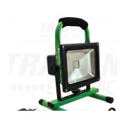 Proiector LED, portabil, cu acumulator si functie de urgenta RSMDAE20W 110-240 VAC; 20 W; IP54; 8,4 V; 10Ah; 1200 lm, EEI=A
