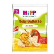 Hipp Gmbh & Co. Vertrieb Kg Hipp gallette di riso alla mela 30g