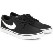 Nike SB PORTMORE II SOLAR CNVS Canvas Shoe For Men(Black)