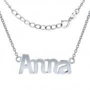 Silvego Stříbrný řetízek se jménem Anna - JJJC1809