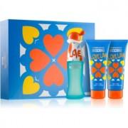 Moschino I Love Love lote de regalo III. eau de toilette 50 ml + gel de ducha y baño 100 ml + leche corporal 100 ml