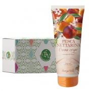 Bottega Verde - Crema de corp cu aroma de nectarine in cutie cadou
