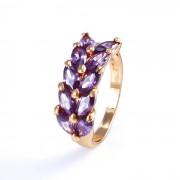 Virágszirom, gold filled gyűrű
