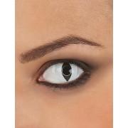 Vegaoo.es Lentillas de contacto blancas ojo de reptil