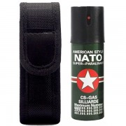1 Spray NATO paralizant de buzunar cu piper pentru autoaparare