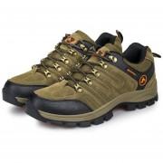 EB TH61252-37 Outdoor Lace-up Botas De Montaña Deporte Zapatos De Hombre Para Acampar Escalada Brown - Brown