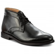 Обувки CLARKS - Corfield Mid 261272067 Black Leather