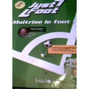Just Foot - Un Terrain Magnetique - 1 Manuel D Apprentissage - 3 Magnets Des Joueurs De Ligue 1