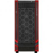 Carcasa desktop silverstone Redline RL05 Midi-Tower, negru si rosu, fereastra (SST-RL05BR-W)