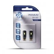 M-TECH LED W5W 6xSMD5730 CANBUS White комплект