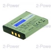 2-Power Digitalkamera Batteri Fujifilm 3.7v 700mAh (NP-50)