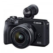 Canon »EOS M6 MarkII EF-M 15-45mm f/3.5-6.3 IS STM Kit« Systemkamera (EF-M 15-45mm f/3.5-6.3 IS STM, 32,5 MP, WLAN (Wi-Fi), Bluetooth)