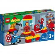 Lego set de construcción lego duplo laboratorio de superhéroes 10921