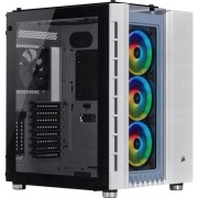 Carcasa Crystal Series 680X RGB High Airflow, Tempered Glass, Middle Tower, fara sursa, ATX, alba