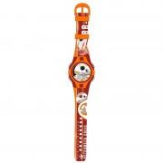 Star Wars Digital Armbandsur Klocka R2D2 Orange