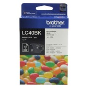 Original Brother LC40BK Black Ink Cartridge (LC-40BK)