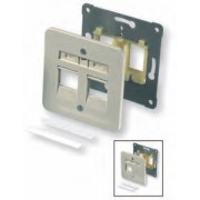 NET ACC WORK AREA OUTLETS/WHITE 2-966224-1 AMP BY TE
