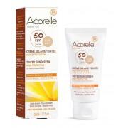 Био слънцезащитен, тониращ и антиоксидантен крем за лице и тяло, SPF50 Acorelle 50 мл (светъл цвят)