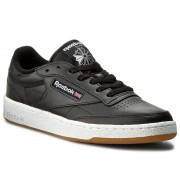 Обувки Reebok - Club C 85 AR0458 Black/White/Gum