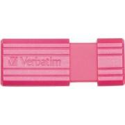 USB Flash Drive Verbatim PinStripe 16GB USB 2.0 Roz