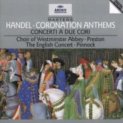 G.F. Handel - Coronation Anthems (0028944728026) (1 CD)