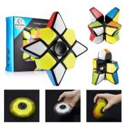 Fidget Spinner Cube kocka 7 x 7 x 3 cm