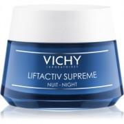 Vichy Liftactiv Supreme Festigende Nachtcreme gegen Falten mit Lifting-Effekt 50 ml