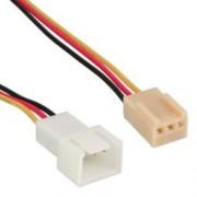 InLine Molex 3 pin ventilator kabel 30cm