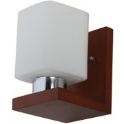 LeArc Designer Lighting Contemporary Glass Metal Wood Wall Light WL2143