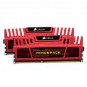 Corsair 8 GB DDR3-RAM - 1600MHz - (CMZ8GX3M2A1600C9R) Corsair Vengeance Red Kit CL9
