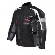 Modeka El Chango Niños textil chaqueta Negro/Gris 116