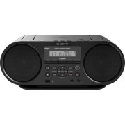 Sony Radio Boombox c/ Lector CD SONY ZS-RS60BT (Negro - Digital - FM/AM - Pilas y Corriente)