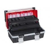 Allit Plastikowa walizka z wysuwanymi półkami mcplus alu c 18