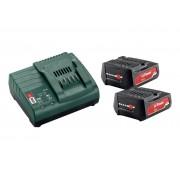 Metabo Basic-Set 2 x Li-Power 12V 2.0Ah + ЗУ SC30 685300000