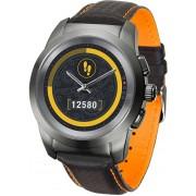 MyKronoz Hybridní hodinky ZeTime Premium Titanium/Black - 39 mm