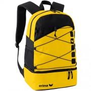 erima Multifunktions-Rucksack 5-CUBES - gelb/schwarz